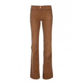 SHINE Pantalon seventies évasé en velours côtelé camel Px boutique 260€ Taille 25
