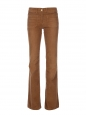 SHINE Flared seventies camel corduroy trouser Retail price 260€ Size 25