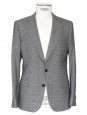 Men's prince galls wool tailored-fit blazer jacket NEW Retail price 900€ Size M