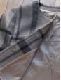 Veste courte en laine gris marron et noires Taille 40/42