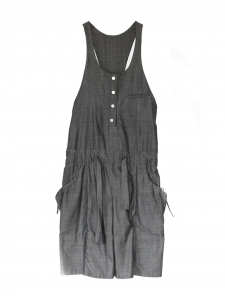 CHLOE Dark grey cotton jumpsuit Size 36
