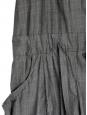 CHLOE Salopette en coton gris foncé Taille 36