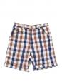 Short Homme en coton madras à carreaux bleu, rouge et beige Prix boutique 138€ Taille XS