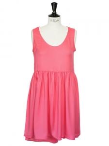 Bright pink babydoll style dress Size 38