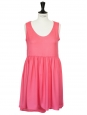 Robe babydoll légère rose bonbon Taille 38