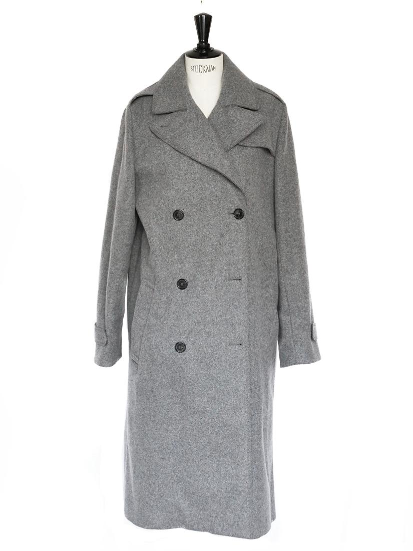 louise paris chloe manteau oversize en laine gris moyen px boutique 2000 taille 38 40. Black Bedroom Furniture Sets. Home Design Ideas