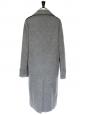 Manteau oversize en laine gris moyen Px boutique 2000€ Taille 38/40