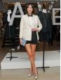 White silk double breasted blazer jacket Retail price 630€ Size 40