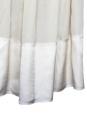 Robe de cocktail / mariée en mousseline de soie crème écrue Taille 38/40