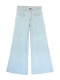 Light blue cotton high waist flared jeans Retail price 350€ Size 36