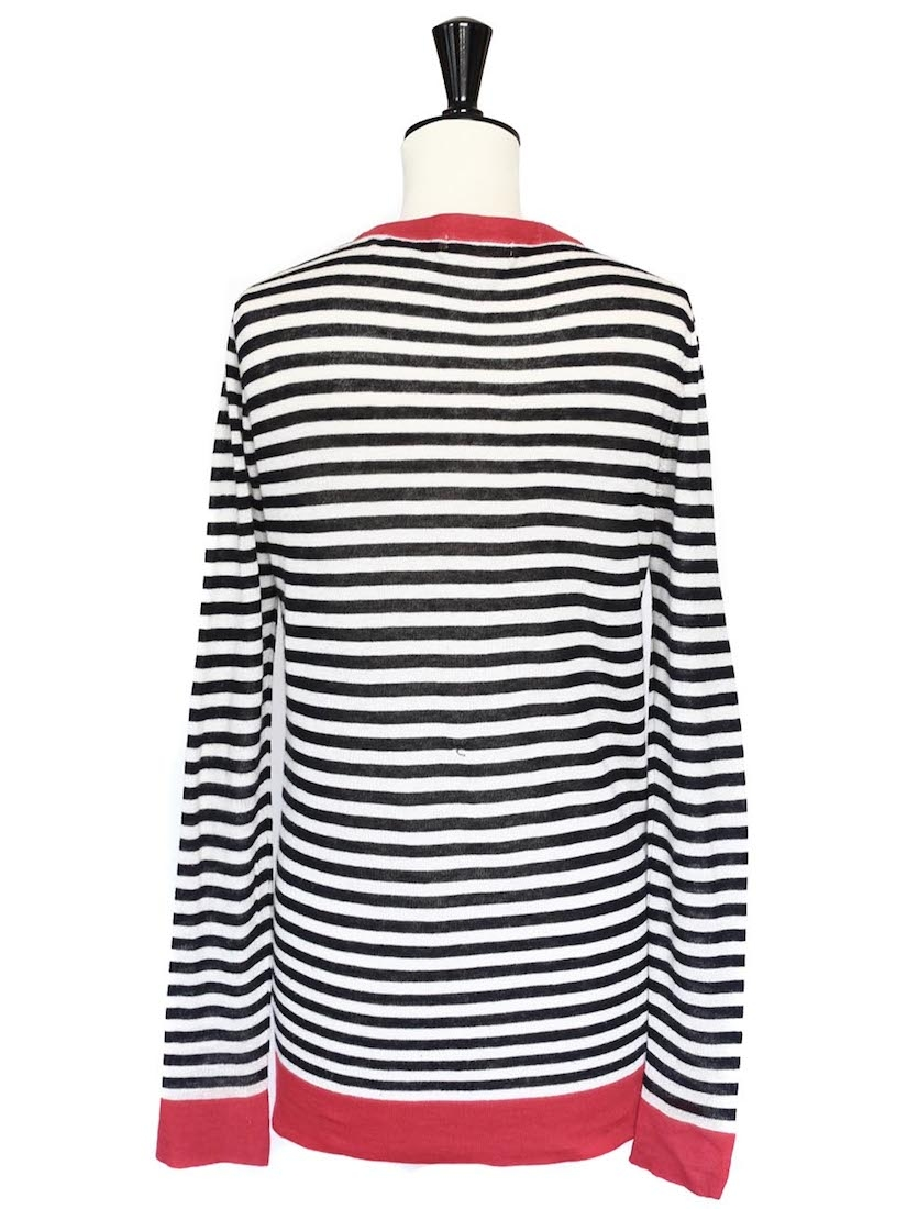 Find and save ideas about Red cardigan on Pinterest. | See more ideas about Wear red, Red cardigan outfit fall and Work clothes women. red cardigan, striped shirt, white skirt (or ankle pants). I love how this outfit can be changed up! The skirt for a more professional look and the pants for a more causal look.