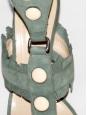 Sandales gladiator en veau velours Taille 39