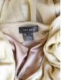 Gold metallic knit short sleeves dress Retail price 1300€ Size 38