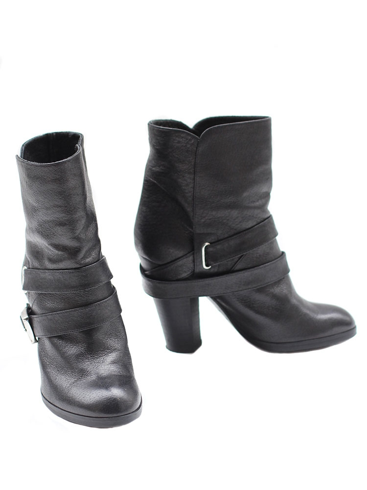 Jacobs Boots Paris Bottines Biker Noir Louise Ankle Marc En Cuir CsQthrd