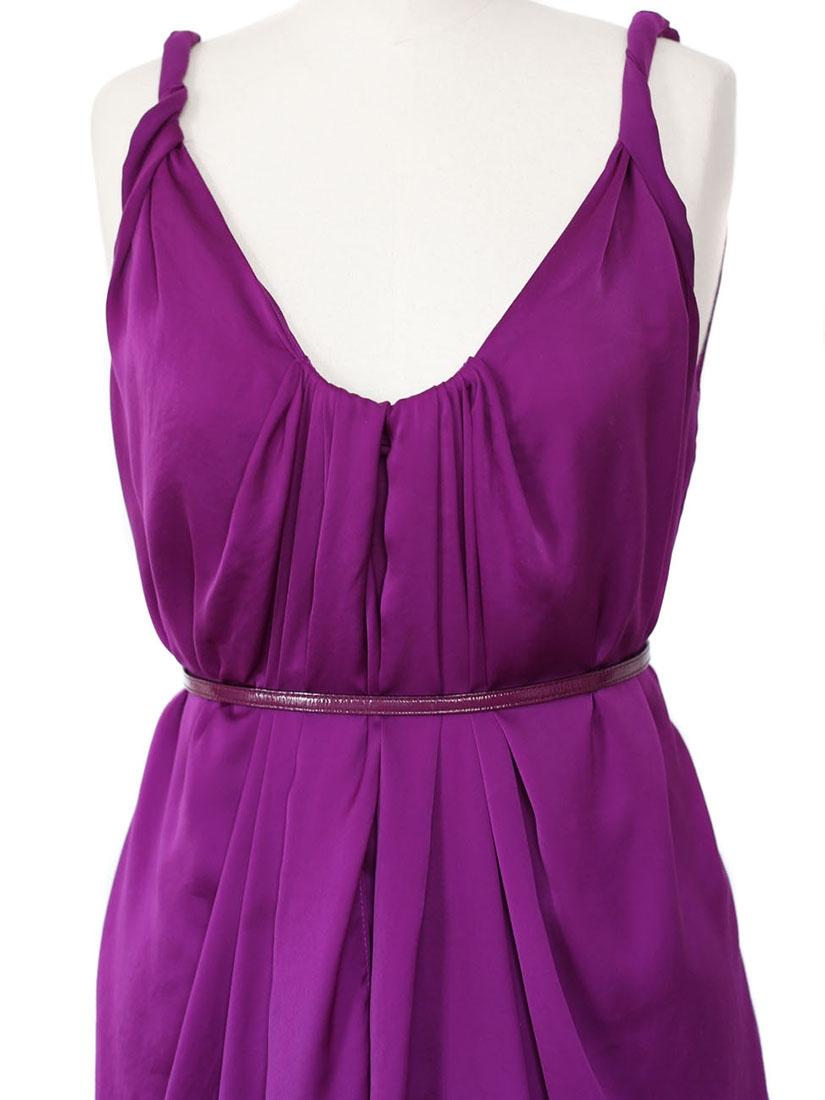Louise paris diane von furstenberg robe de cocktail - Violet prune couleur ...