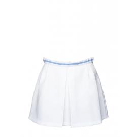 Mini jupe de tennis blanche et bleu ciel Taille 40