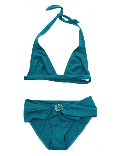 Maillot de bain bikini deux pièces bleu canard NEUF Prix boutique 150€ Taille 36