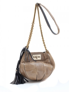 Lizard leather Boudoir cross body bag, retail prix 2400€