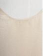 Débardeur en soie pailleté beige rosé Taille 34