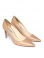 Escarpins en cuir rose nude NEUF Px boutique 600€ Taille 40