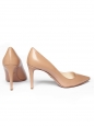 Pink nude leather high heel pumps NEW Retail price 600€ Size 40