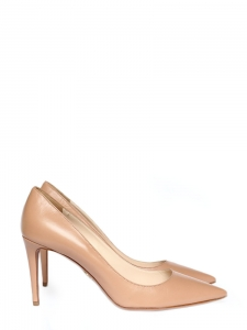 11c6c84a4507 Pink nude leather high heel pumps NEW Retail price 600€ Size 40