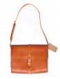 Minimal camel brown leather hobo bag NEW with tag Retail price 380€
