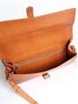 Sac besace Minimal en cuir marron camel NEUF Px boutique 380€