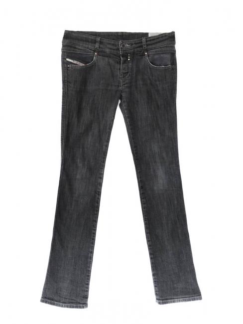 Jean DIESEL Rokket gris avec poche cuir Taille 36