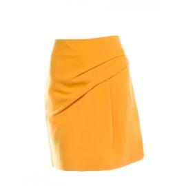 Jupe en laine et soie jaune doré Px boutique 650€ Taille 38
