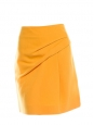 Gold yellow wool and silk skirt Retail price 650€ Size 38