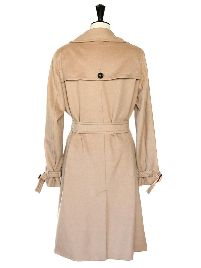Womens Coats Long Coats Max Mara Studio Coats | Dark Brown Hairstyles