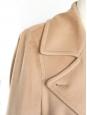 Manteau en laine beige camel Px boutique 800€ Taille 40