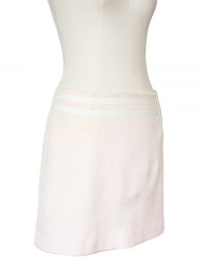 Light pink wool mini skirt Size 38
