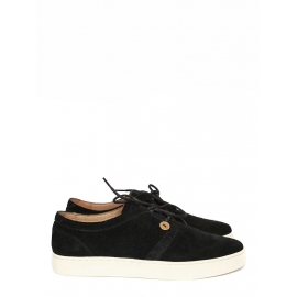 Black suede leather sneakers NEW Retail price €110 Size 42