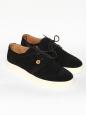 Men's black suede sneakers Size 42