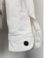 Men white denim jacket Retail price 330€ NEW Size L