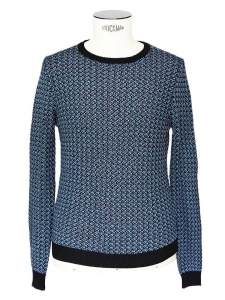 """England"" steal blue and black knitted sweater NEW Size M"