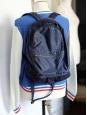 Sac à dos en nylon japonais bleu marine NEUF Px boutique 160€
