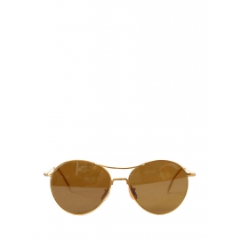 Thin gold frame aviator sunglasses Retail price 240€ NEW