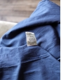 Manteau Trench Homme en coton bleu nuit Px boutique supérieur à 400€ Taille M