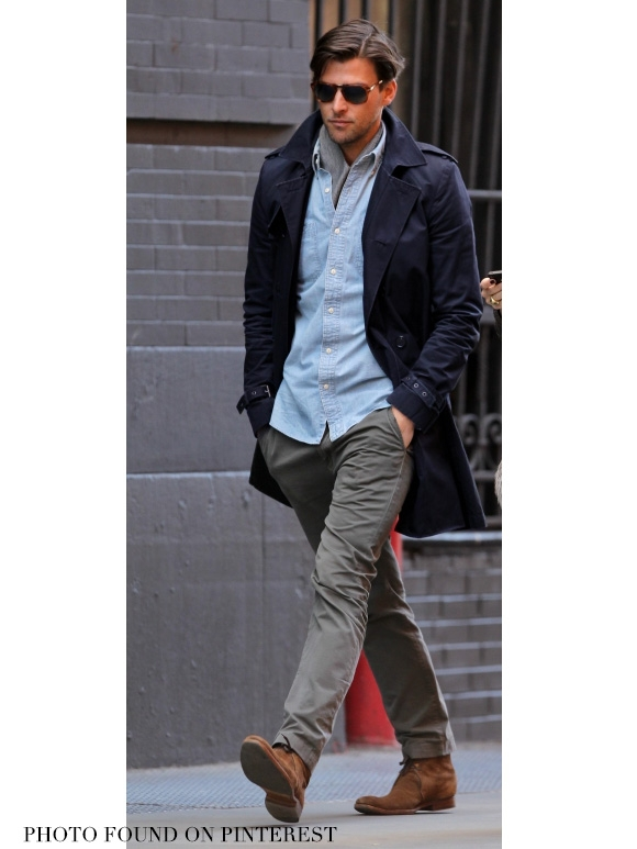 closer at diversified latest designs buy good Louise Paris - APC Men's navy blue Mac Trench Coat Retail ...