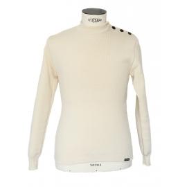Ecru wool sailor sweater Retail price €99 Size L