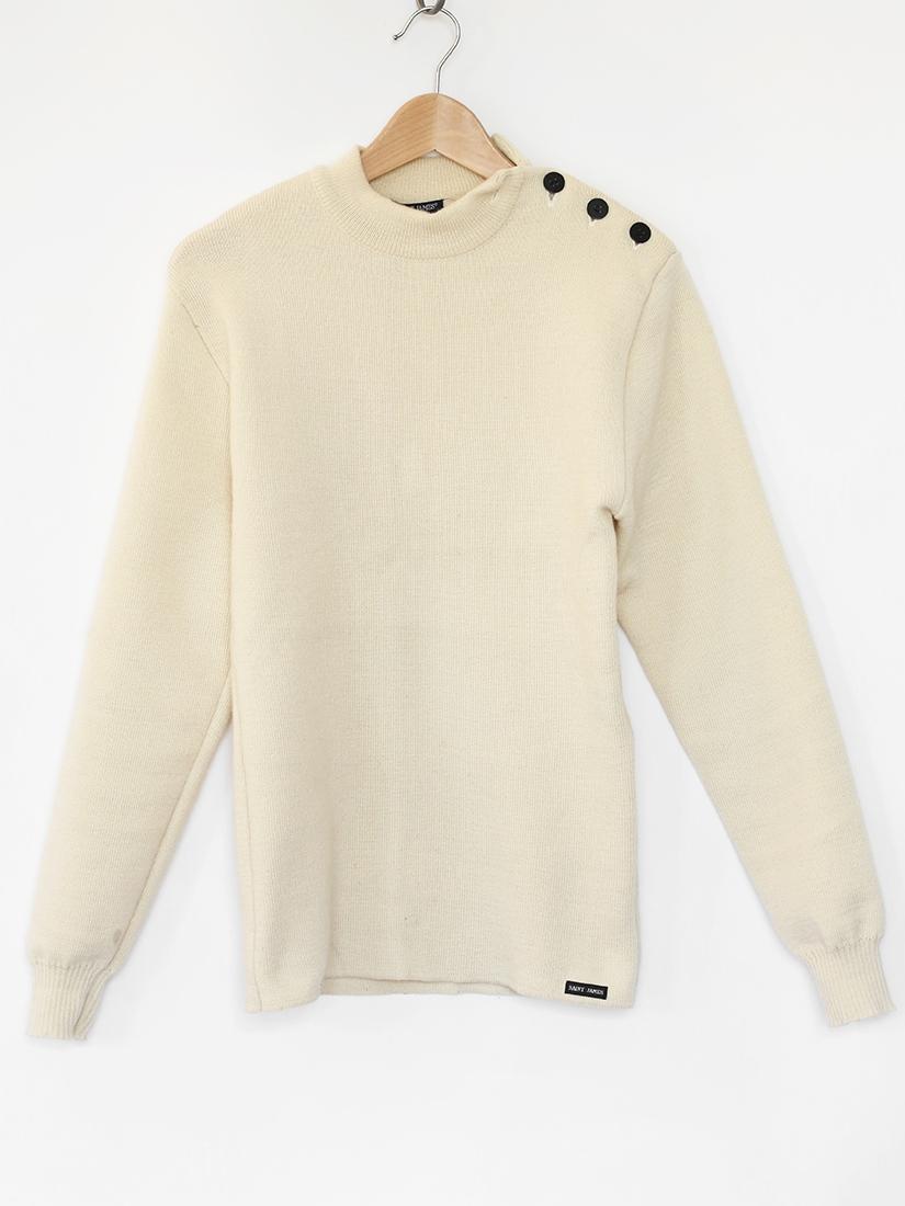 louise paris saint james ecru wool sailor sweater retail. Black Bedroom Furniture Sets. Home Design Ideas