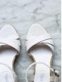 Sandales espadrilles compensées blanches NEUVES Taille 36