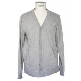 Grey cotton cardigan Size M
