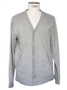 Gilet gris en coton Taille M