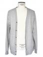 Grey cotton vest Size M