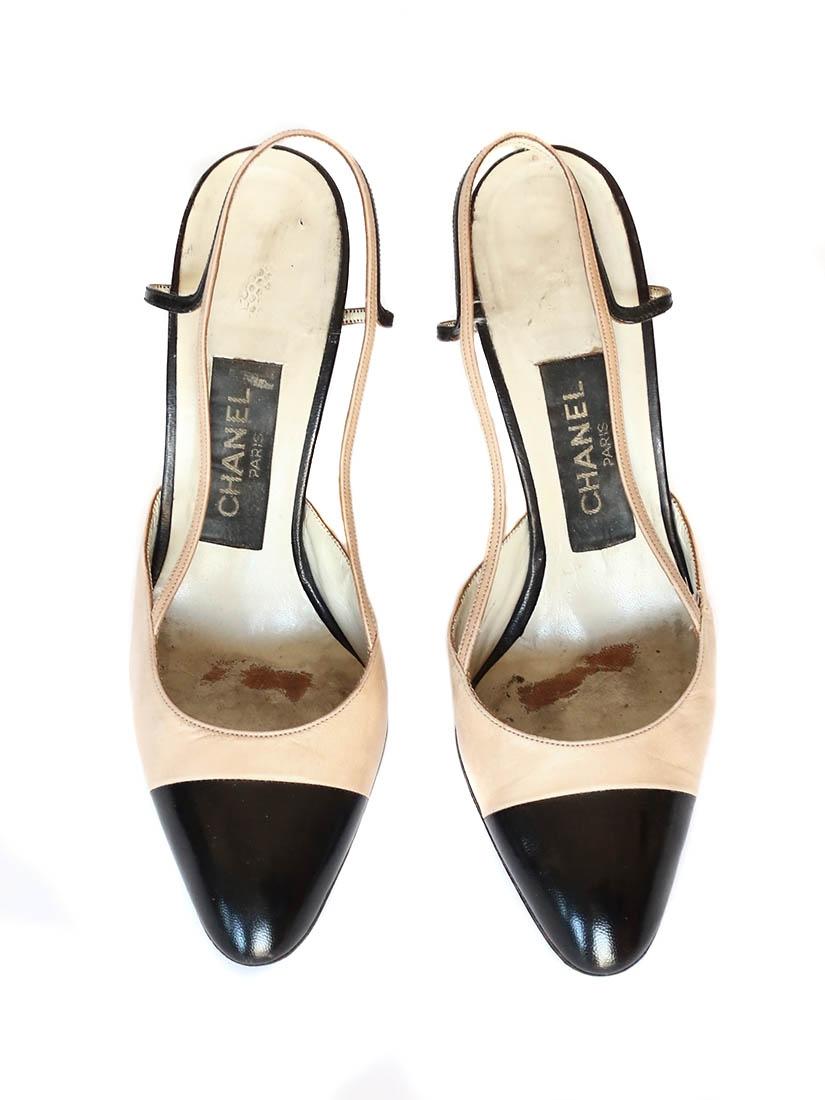 6f840be16ec3 chaussures beige et noire