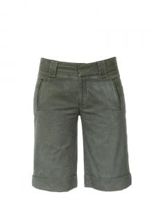 Short bermuda en coton kaki Taille 36